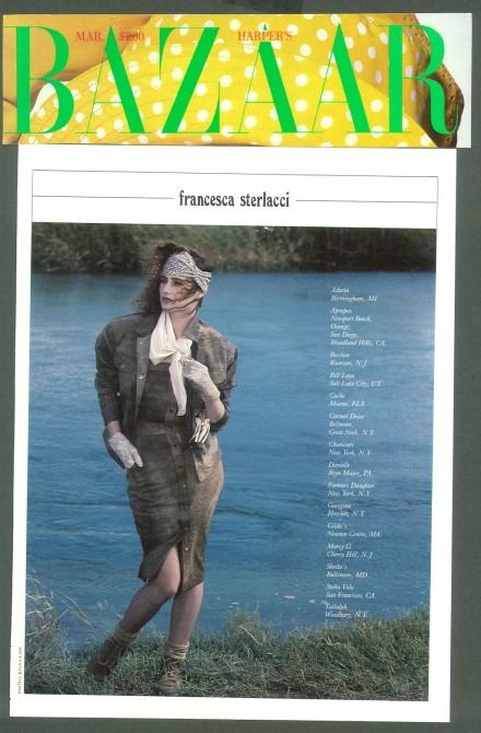 Harper's Bazaar – Francesca Sterlacci Ltd