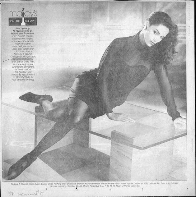 San Francisco Examiner – Macy's – Francesca Sterlacci Ltd