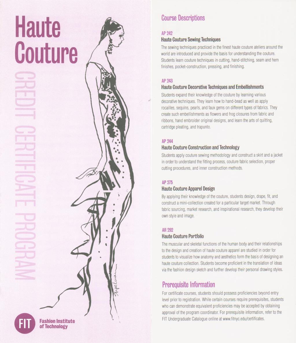 Fit Leather Apparel Certificate Program Fashion Show Francesca