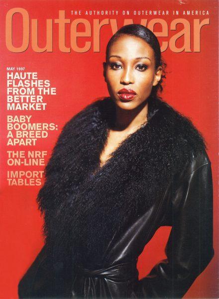 Outerwear Magazine – Cover- Siena