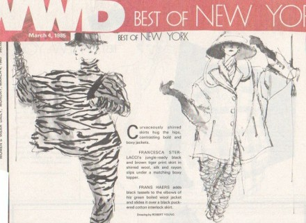 WWD – Best of New York  – Francesca Sterlacci Ltd